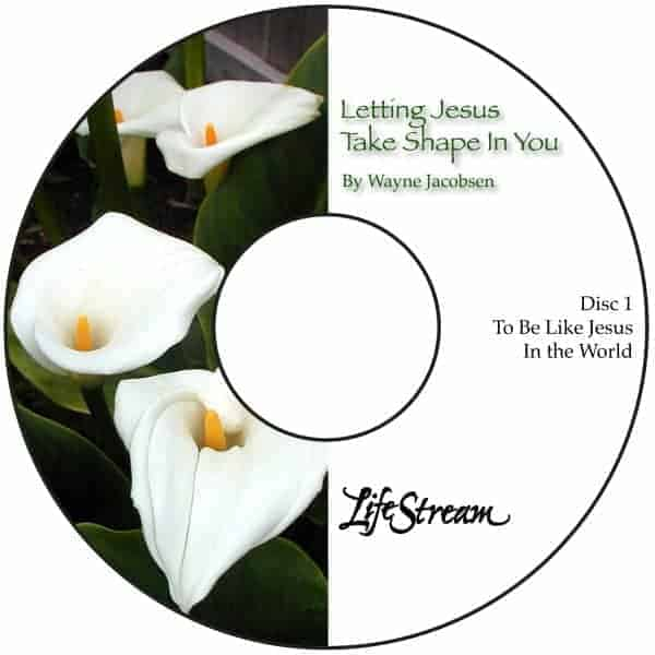 Letting Jesus Take Shape In You [Audio] by Wayne Jacobsen