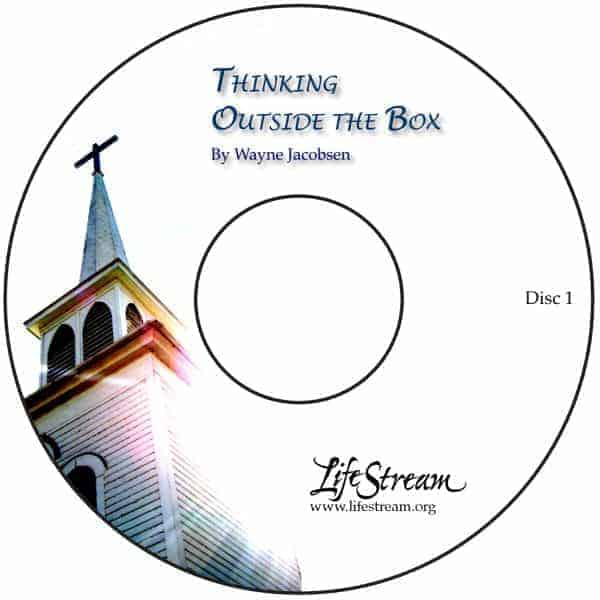 Thinking Outside The Box [Audio] by Wayne Jacobsen