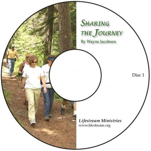 Sharing the Journey [Audio] by Wayne Jacobsen