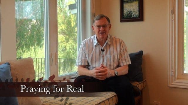 Engage 9: Praying for Real